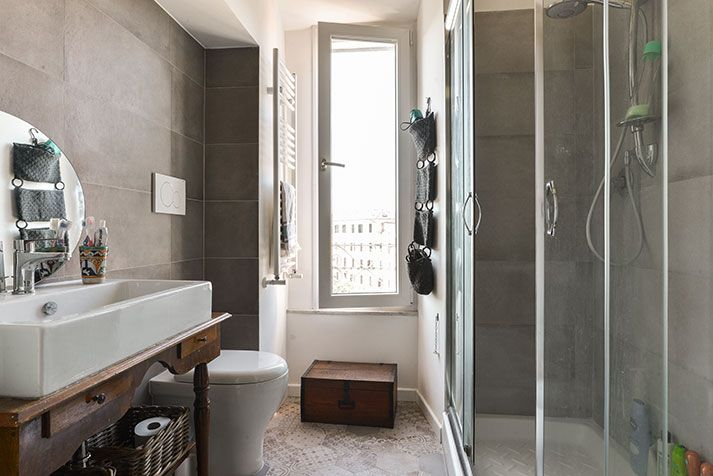 Foto ristrutturazione e arredo appartamento Roma - Bagno