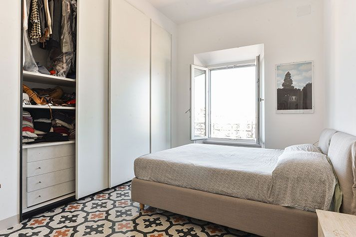 Foto ristrutturazione e arredo appartamento Roma - Camera da letto