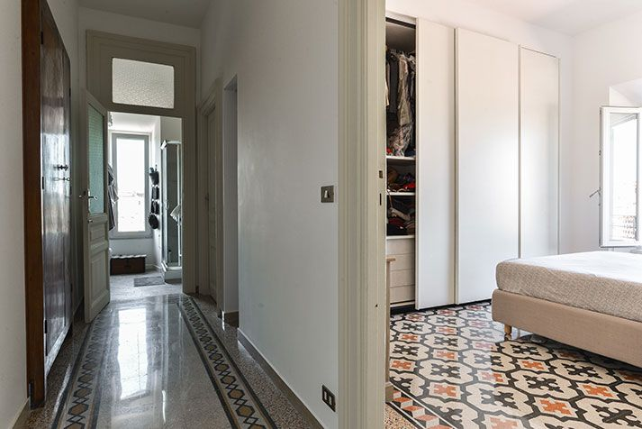 Piante Per Ingresso Buio : Ristrutturazione appartamento roma porta maggiore a