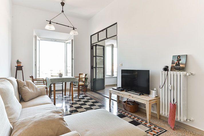 Foto ristrutturazione e arredo appartamento Roma - Soggiorno