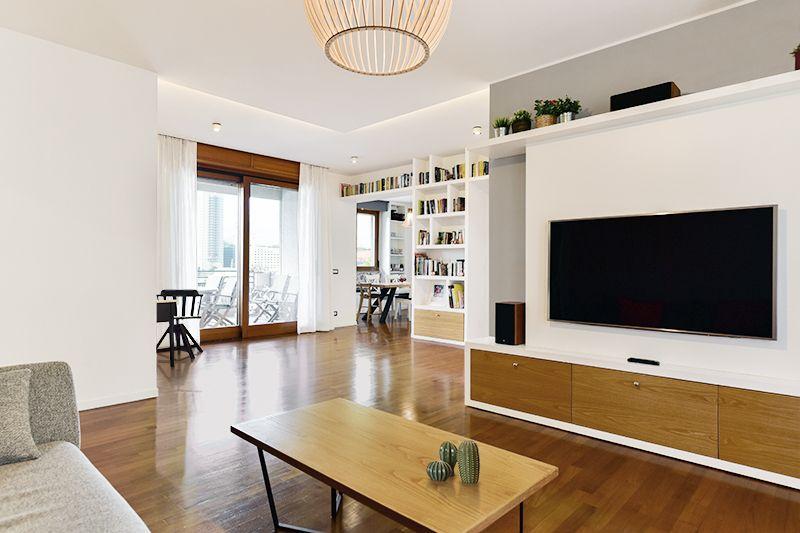 Ristrutturazione casa Roma | Soggiorno e living | 02A