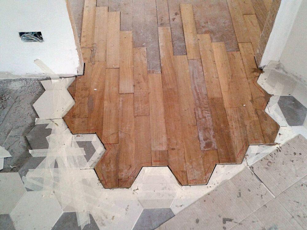 Blog ristrutturazione interni casa appartamento - Parquet da incollare su piastrelle ...