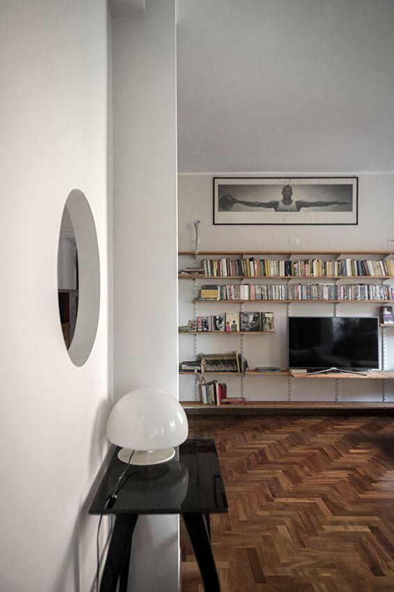 Libreria porta tv