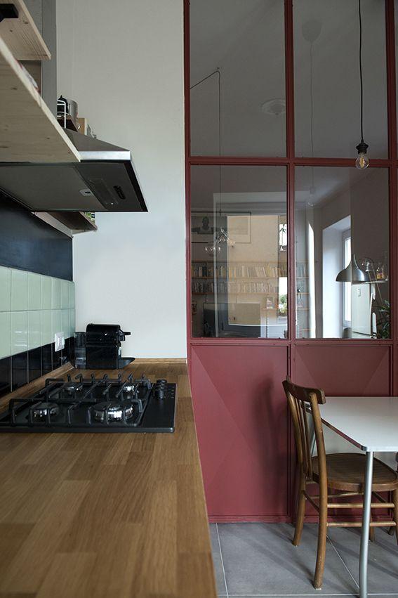Cucina | Vetrata in ferro | 02A