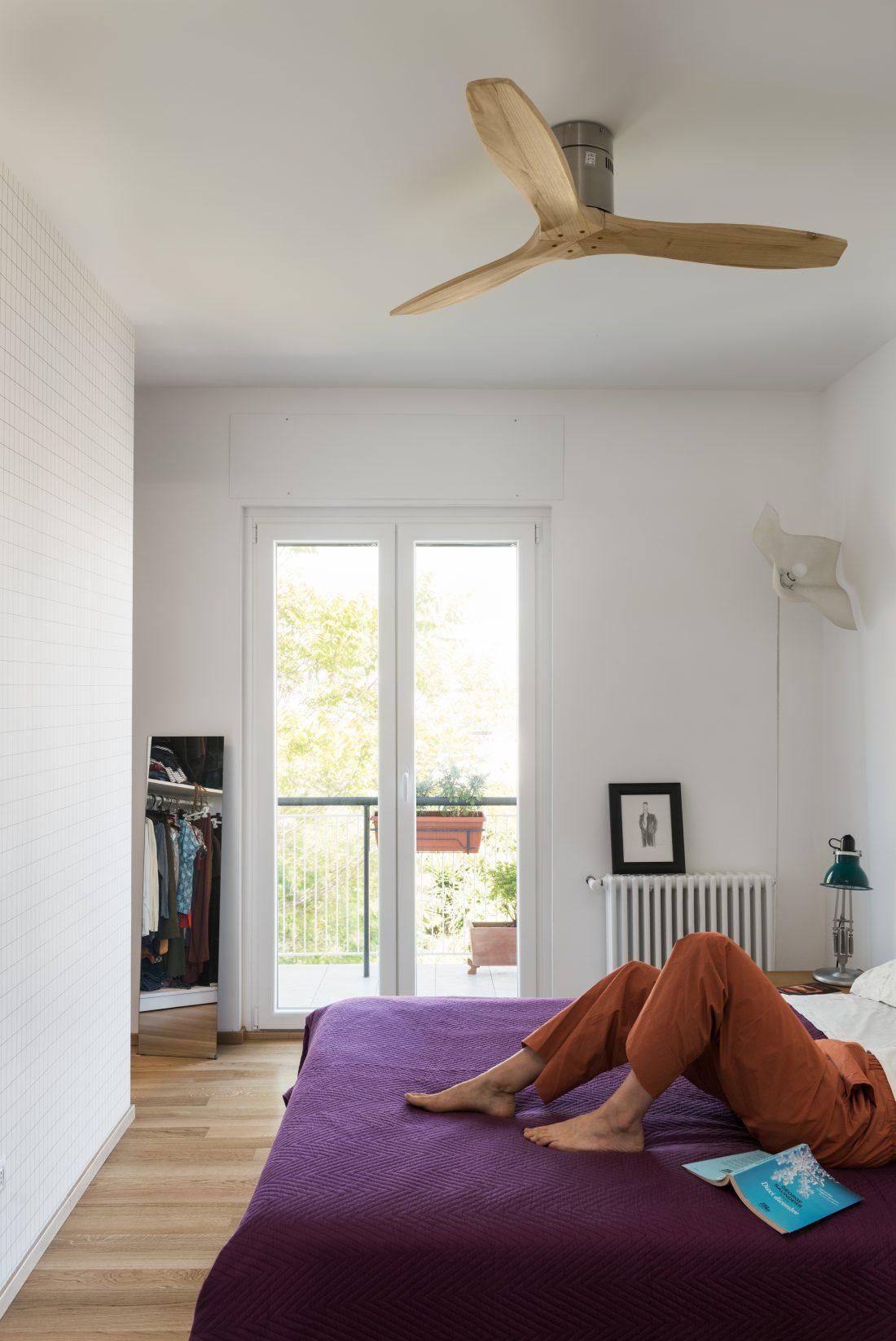 Ristrutturazione monteverde 70 mq   camera da letto