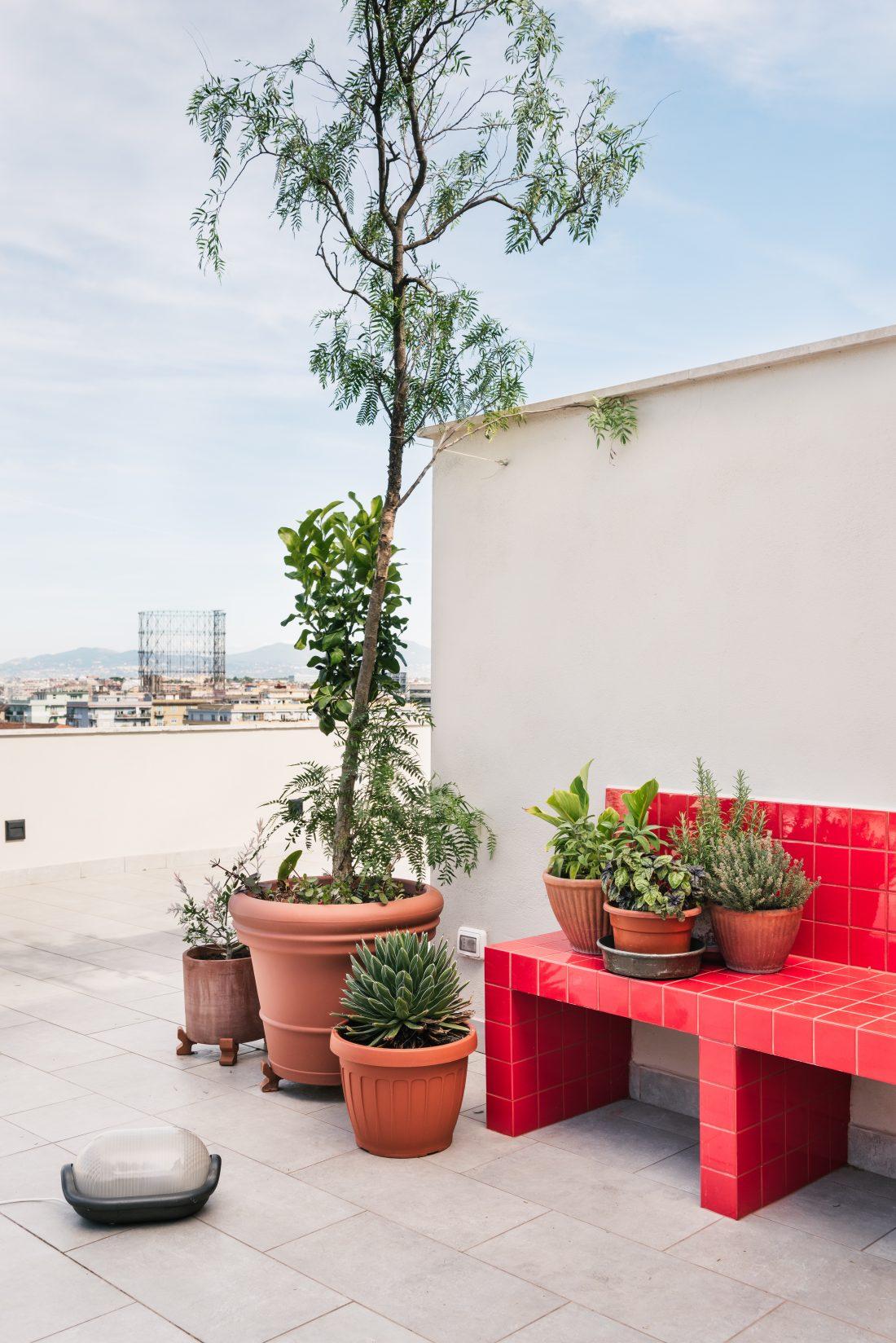 Ristrutturazione monteverde 70 mq   terrazzo