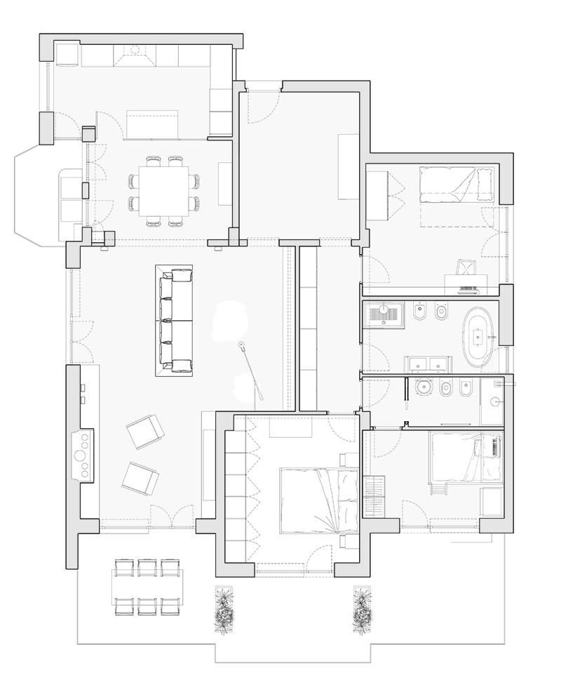 Casa 60 Mq Pianta interni archivi | 02a