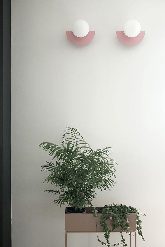 Dettaglio illuminazione in soggiorno