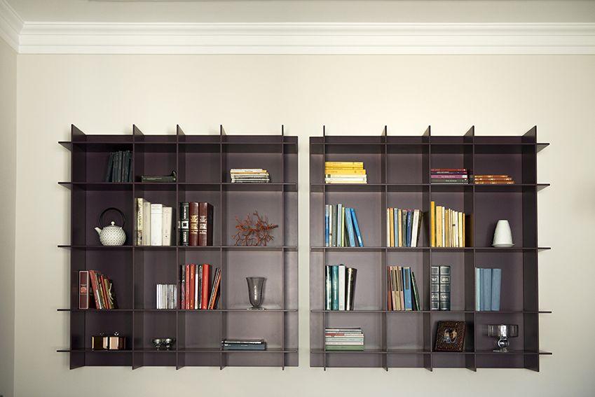 Dettaglio libreria soggiorno