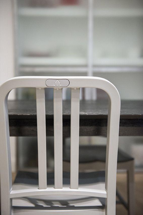 Dettaglio sedia e tavolo