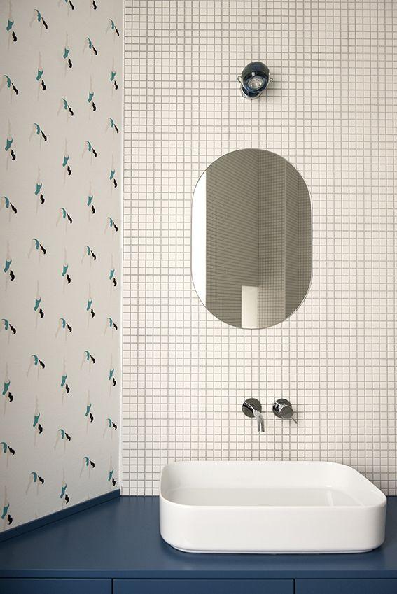 Ristrutturazione appartamento | Bagno lavabo appoggio